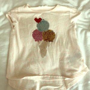 Flip sequin shirt